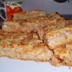 Вкусный яблочный пирог готов