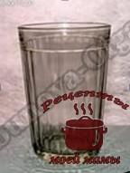 Таблица весов, чайный граненый стакан
