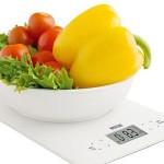 Таблица весов на кухне