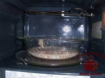 Перловая каша, готовим в микроволновке