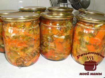 Маринованный-болгарский-перец-с-чесноком-и-зеленью--готов