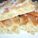 Шарлотка-с-творогом,-пышный-яблочный-пирог
