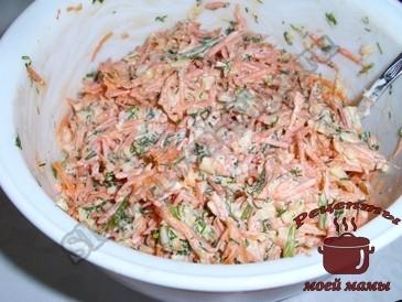 Салат-из-моркови-с-сыром