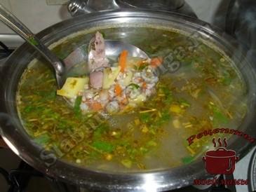 Гречневый-суп-с-куриной-печенью-готов
