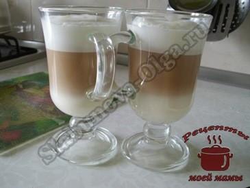 Как сделать кофе латте в домашних условиях