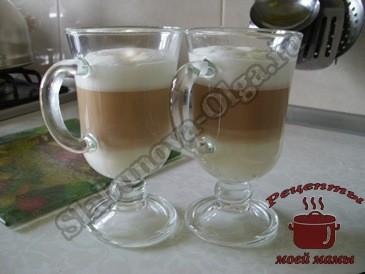 Кофе-латте-макиато