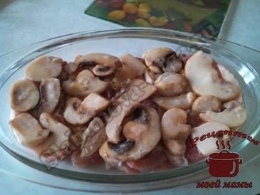 Мясо-под-шубой-с-грибами