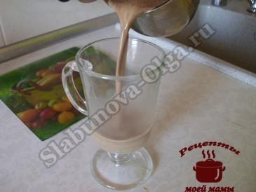 Кофе по-итальянски, разливаем