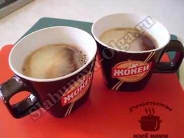 кофе с яйцом, добавляем желток