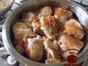 Куриные бедрышки, жарим