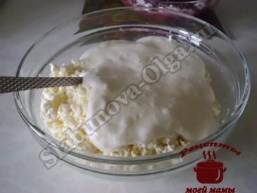 Вишневый пирог, готовим суфле