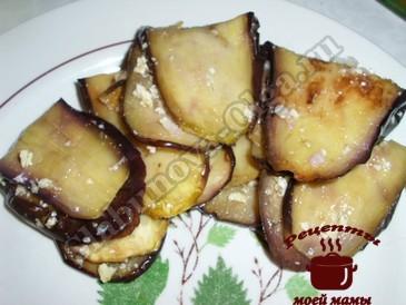 Баклажаны с орехами в маринаде