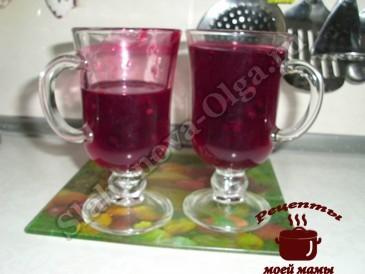 Напиток из ягод, кисель