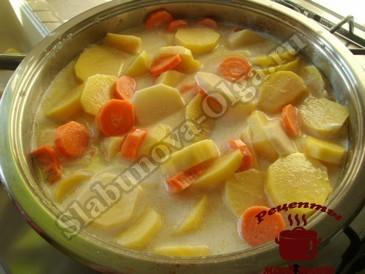 картофель запеченный в духовке, варим