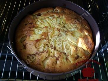Корнуэльский яблочный пирог, запекаем