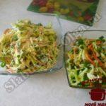 Овощной салат из капусты4