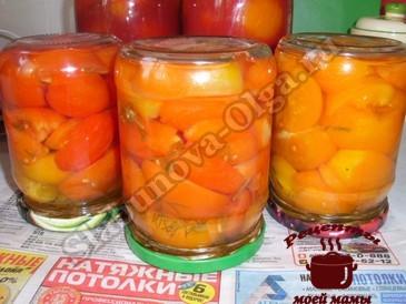 Маринованные помидоры, закатываем