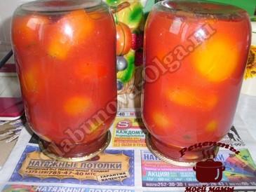 Вкусные помидоры на зиму