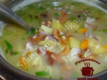 Пшенный суп
