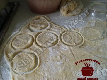 Яблочный пирог, формируем