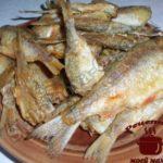Речная рыба готова