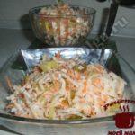Салат из редьки готов