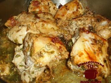 Вкусная курица готова