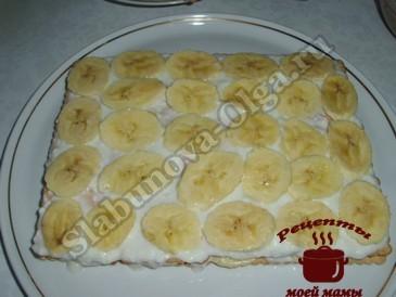 Торт из печенья, выкладываем слоями