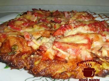 Пицца в духовке готова