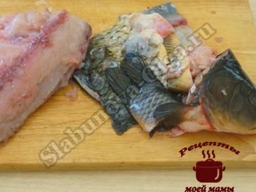 Рыбные котлеты, потрашим рыбу