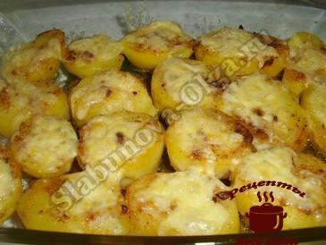 Картофель запеченный в духовке в мундире