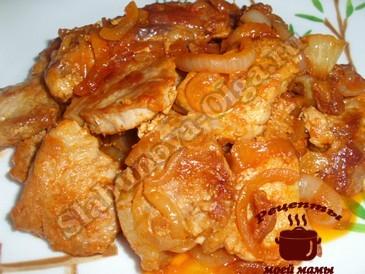 Поджарка из свинины
