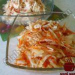 Салат из капусты готов