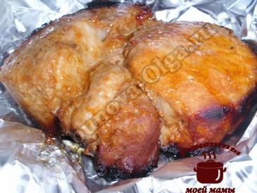 Свинина запеченная готова