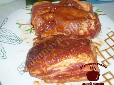 Свинина запеченная, маринуем