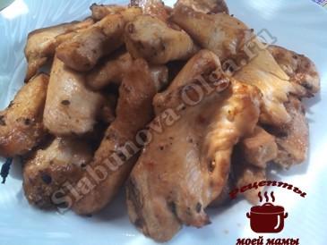 Куриное филе готово