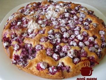 Бисквитный пирог готов