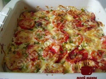Кабачки с сыром готовы