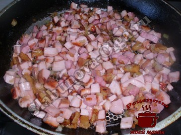 Оладьи из кабачков, готовим начинку
