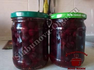 Виноград, заливаем маринадом