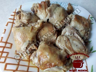 Курица запеченная в пакете