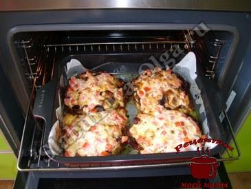 Капуста в духовке, добавляем сыр