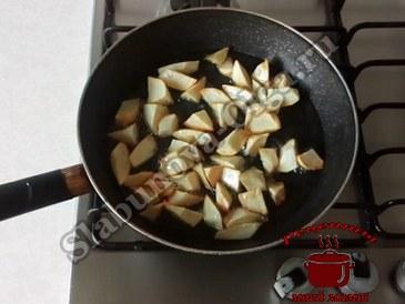 Жареный картофель, жарим